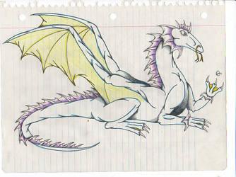 Water Dragoness by Nikushin-Stormsinger