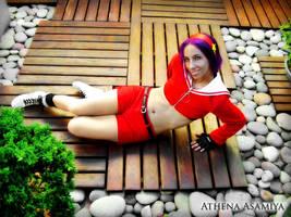 Athena Asamiya Cosplay 02 by Bastetsama-Cosplay