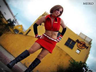 Meiko Vocaloid Cosplay 09 by Bastetsama-Cosplay