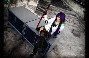 Saeko Busujima Cosplay 05 by Bastetsama-Cosplay