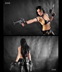 Assassin Jane Cosplay Commission 03 by Bastetsama-Cosplay