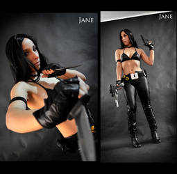 Assassin Jane Cosplay Commission 04 by Bastetsama-Cosplay