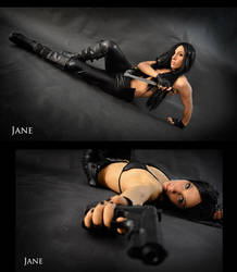 Assassin Jane Cosplay Commission 06 by Bastetsama-Cosplay