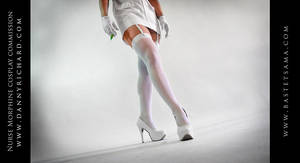 Nurse Morphine Cosplay Commission 04 by Bastetsama-Cosplay