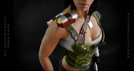 Orchid Cosplay Commission 05 by Bastetsama-Cosplay