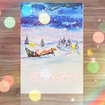 Christmas Card 9 by Maarel