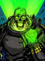 Atomic Skull by JohnOsborne