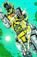 Yellow Ranger by JohnOsborne