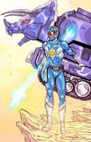Blue Ranger by JohnOsborne