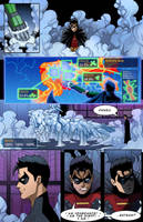 Robin: Legends of the Teen Wonder-ARMOR, pg 13 by Dkalban
