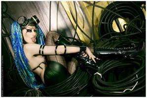 Cyber PinUp by Tinebra