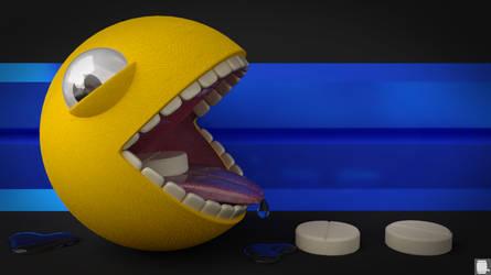 Pacman HD by Pixelgeezer