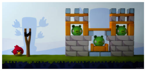 Angry Birds by Pixelgeezer