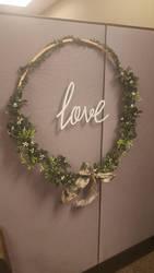 Christmas Wreath by Caitlin McVey by Caiti-Christi