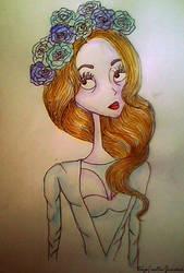 Lana del rey style tim burton by electroblood77