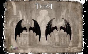 TERA - Dragon Wings by Tiffli