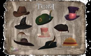 TERA - Hats by Tiffli