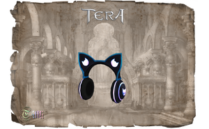 TERA - Headphones Kitty by Tiffli