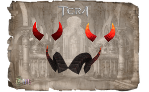 TERA - Horns by Tiffli