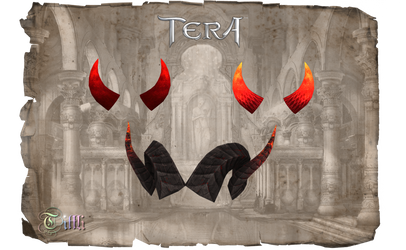 TERA - Horns by Tiffli