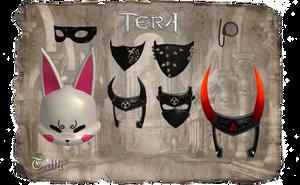TERA - Masks Pack01 by Tiffli