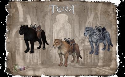 TERA Cats by MoF by Tiffli