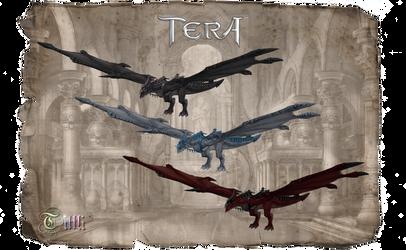 TERA Dragon Ride by MoF by Tiffli