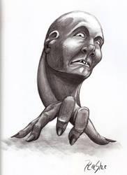Handhead by KaySheep