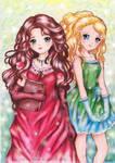 Isolde and Merrick by SilverChaim