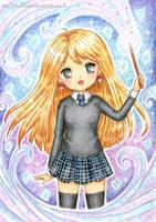Luna Lovegood by SilverChaim