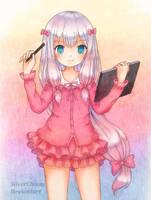 Sagiri Izumi by SilverChaim
