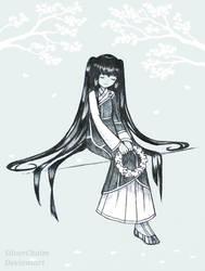 Buddhist Nun Girl by SilverChaim