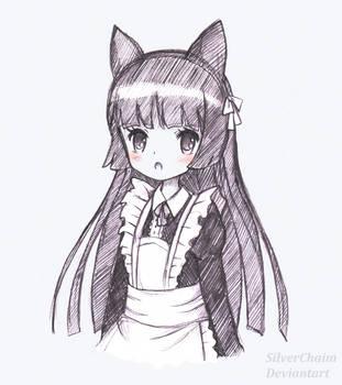 Kuroneko by SilverChaim