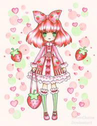 Strawberry Girl by SilverChaim
