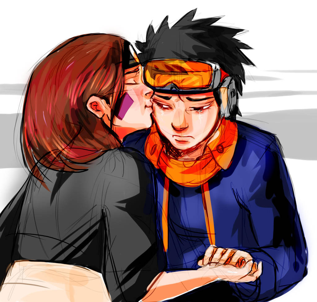 Obito and Rin by Sbi96 on DeviantArt