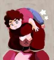 Steven and Garnet by Sbi96