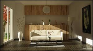 Living Room - Render 2 of 4 by FEG