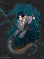 Timeskip Sasuke by paintpixel