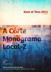 Sons + Tons 2011 Poster by sturdy