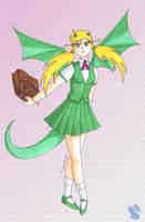School Girl Midori by aoi-ryu