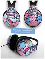 Pokemon Headphones by PeterPan-Syndrome