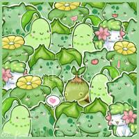 Flower Power Pokemon by PeterPan-Syndrome