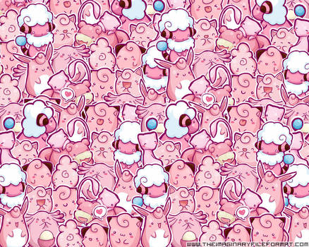 Pink Pokemon Wallpaper by PeterPan-Syndrome