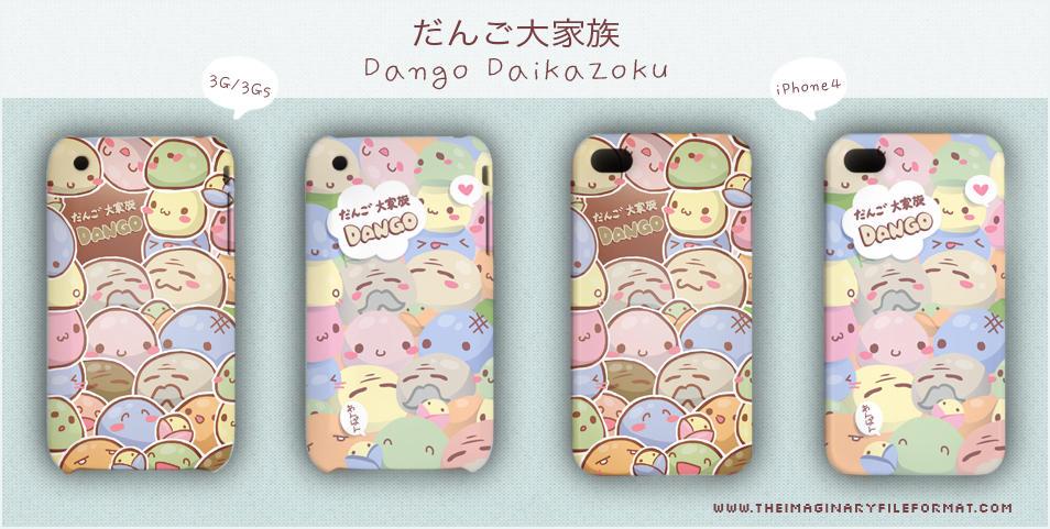 Dango Daikazoku Iphone By Peterpan Syndrome On Deviantart