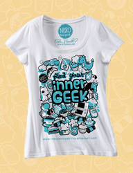 Find Your Inner Geek - tee by PeterPan-Syndrome