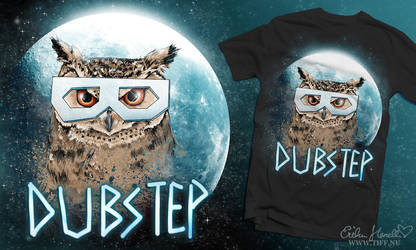 Dubstep Owl - Moon edition by PeterPan-Syndrome