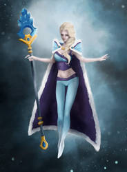 Rylai - The Crystal Maiden by PeterPan-Syndrome