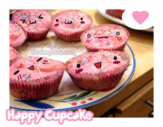 Happy Cupcake. by PeterPan-Syndrome