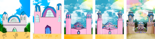 Trix Life : Evolution of Alfea Castle ! by Oxery