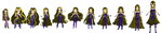Evolution of Darcy, Queen of Darkness ! by Oxery
